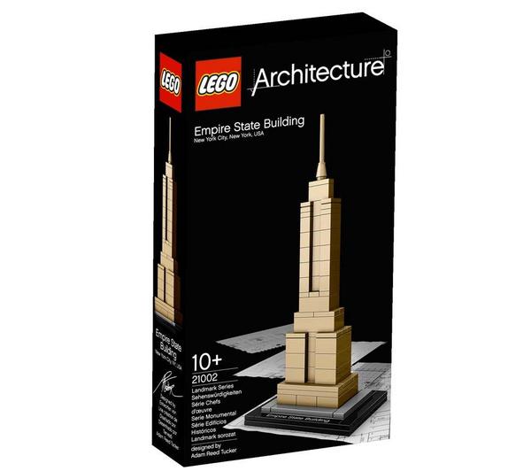 Lego Architecture - Empire State Building - 21002