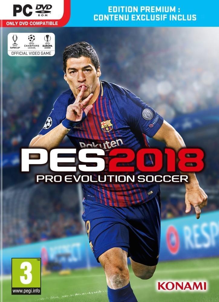[Prime] Précommande PES 2018 Premium D1 Edition sur PC