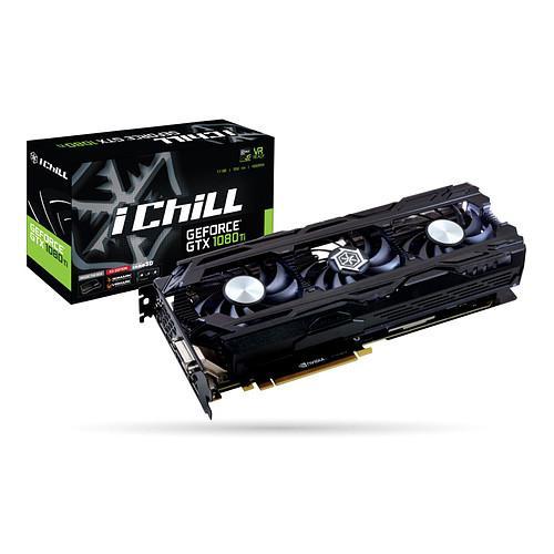 5% de réduction sur les Composants PC - Ex: Carte Graphique Inno3D iChill GeForce GTX 1080 Ti X3 + Destiny 2 sur PC (Dématérialisé)à 659.25€