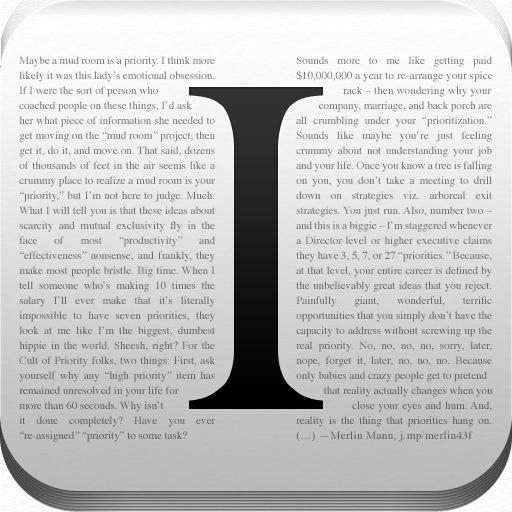 App Instapaper gratuite sur iOS (au lieu de 3,59€) + 2 mois d'abonnement gratuit