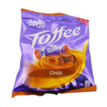 A partir du 26 : 2 paquets de Bonbons Milka Tofee Classic ou Noisettes