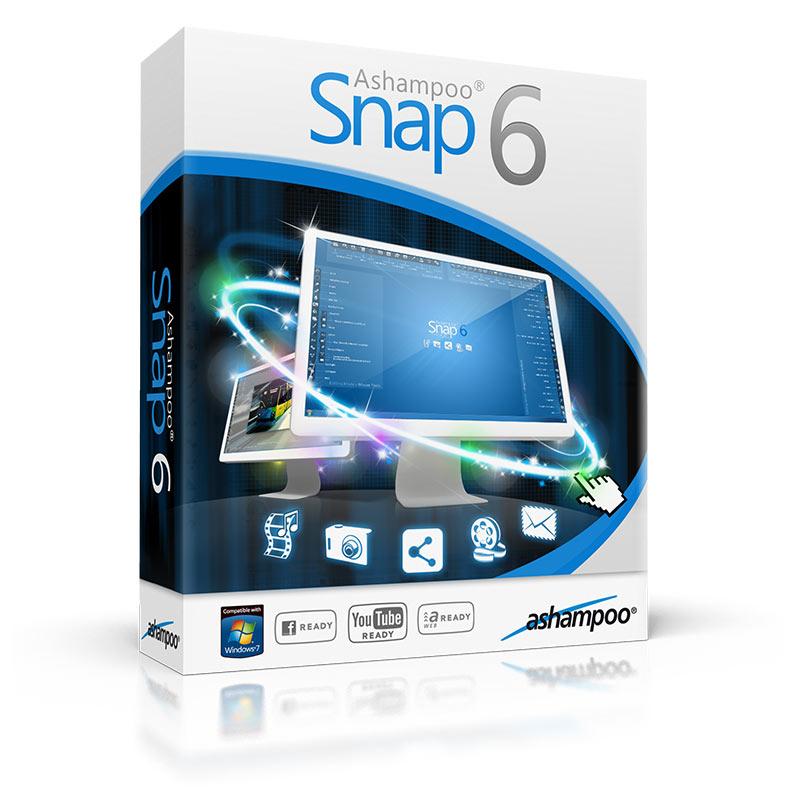 Ashampoo Snap 6 Gratuit (Logiciel de captures d'écran avec ajout d'annotations, effets...)