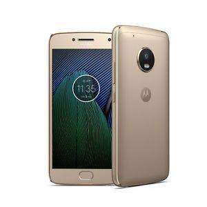"Smartphone 5.2"" Lenovo Motorola Moto G5 Plus XT1685 - 32 Go, Double SIM, Or"