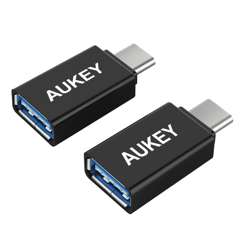 Pack de 2 adaptateur USB C vers USB A 3.0 Aukey