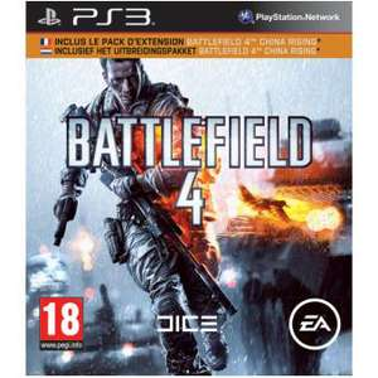 Battlefield 4 Edition Limitée PS3 ou Call of Duty Ghost sur 360