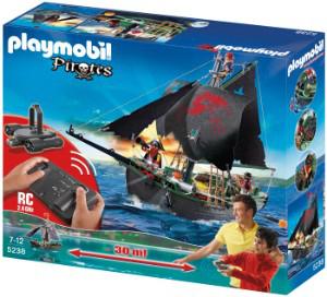 Playmobil 5238 Bateau des corsaires avec moteur submersible radio-commandé