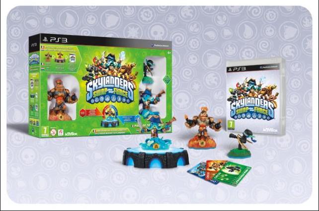 Pack De Démarrage Skylanders Swap Force PS3 / Wii / Wii U / 3DS / Xbox 360