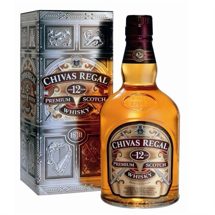 Whisky Chivas 12 ans 1L (50% sur carte fidélité)