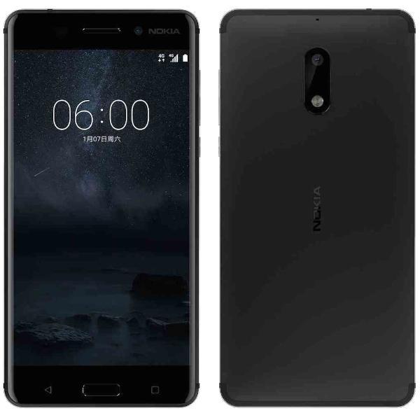 "Smartphone 5.5"" Nokia 6 - Full HD, Snapdragon 430, 3Go RAM, 32Go, Android 7.1.1(via 20€ fidélité)"