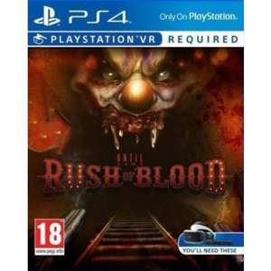Until Dawn: Rush Of Blood - Playstation VR sur PS4