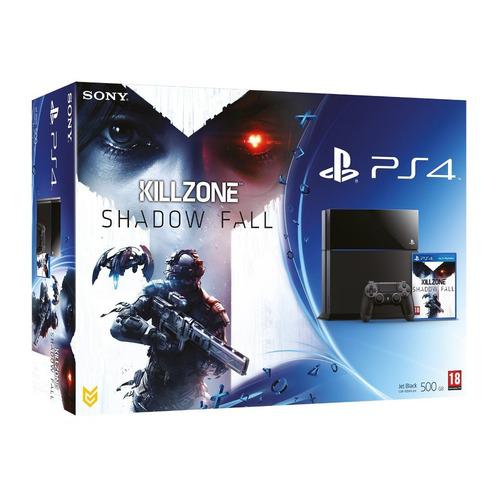 Sony PlayStation 4 + Killzone Shadow Fall (En stock !)