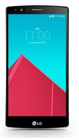 """Smartphone 5.5"""" LG G4 H815 (SnapDragon 808, 3 Go de RAM 32 Go, blanc, gris et or) version européenne (avec B20 et B28) - reconditionné"""
