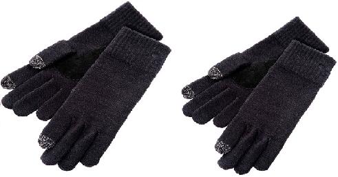 2 paires de gants tactiles