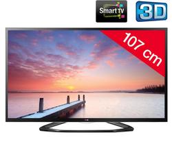 """TV LG 42LA640S - 42"""" 3D LED - Smart TV - 1080p (FullHD)"""