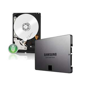 SSD 840 evo 120Go + disque dur Western Digital Green 2 To