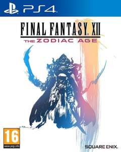 Final Fantasy XII: The Zodiac Age sur PS4