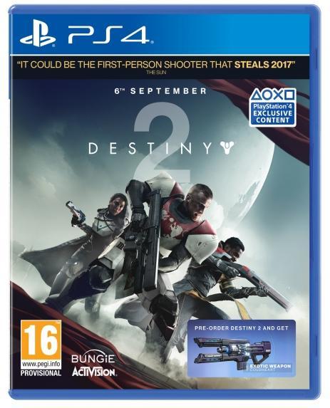 Jeu Destiny 2 sur PS4 / Xbox One
