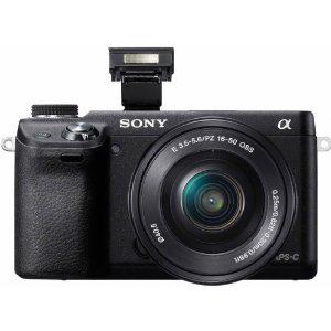 Appareil photo hybride Sony NEX-6LB + Objectif 16-50