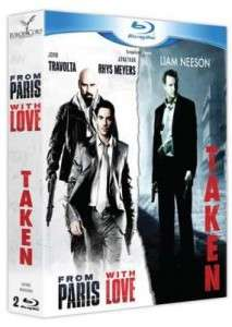 Coffret Blu-Ray : From Paris with love + Taken
