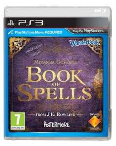 Book of Spells + Wonderbook PS3 (Frais de port: 6€)