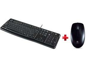 Pack clavier + souris LOGITECH Keyboard K120 + Souris filaire