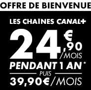 [Abonnés BBox] Les chaines Canal + BBox pendant 1 an