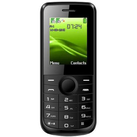 Téléphone portable Selecline 863335 noir - double sim (via cagnotte 3€)