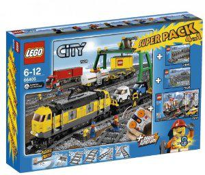 Lego City 66405 Super Pack City Train (4 packs Lego)