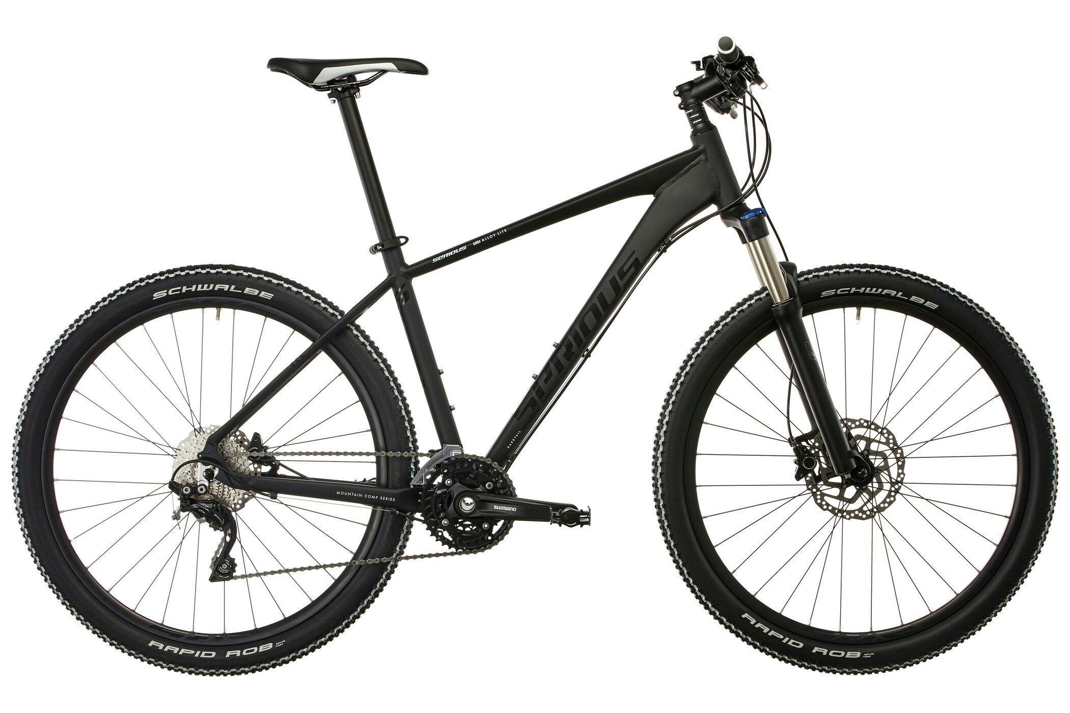 "VTT 27,5"" Serious Provo Trail 650B - Noir ou blanc"