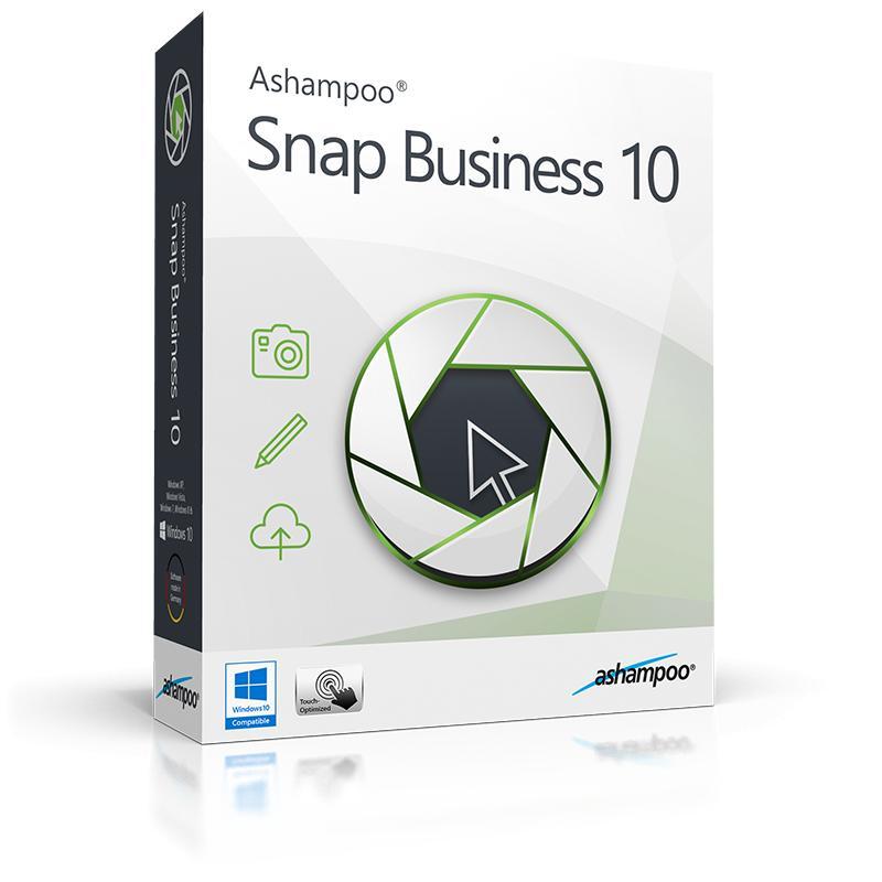 Logiciel Ashampoo Snap Business 10 (dématérialisé) gratuit sur PC