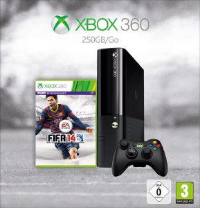 Console Xbox 360 250 Go (dernier modèle)  + Fifa 14