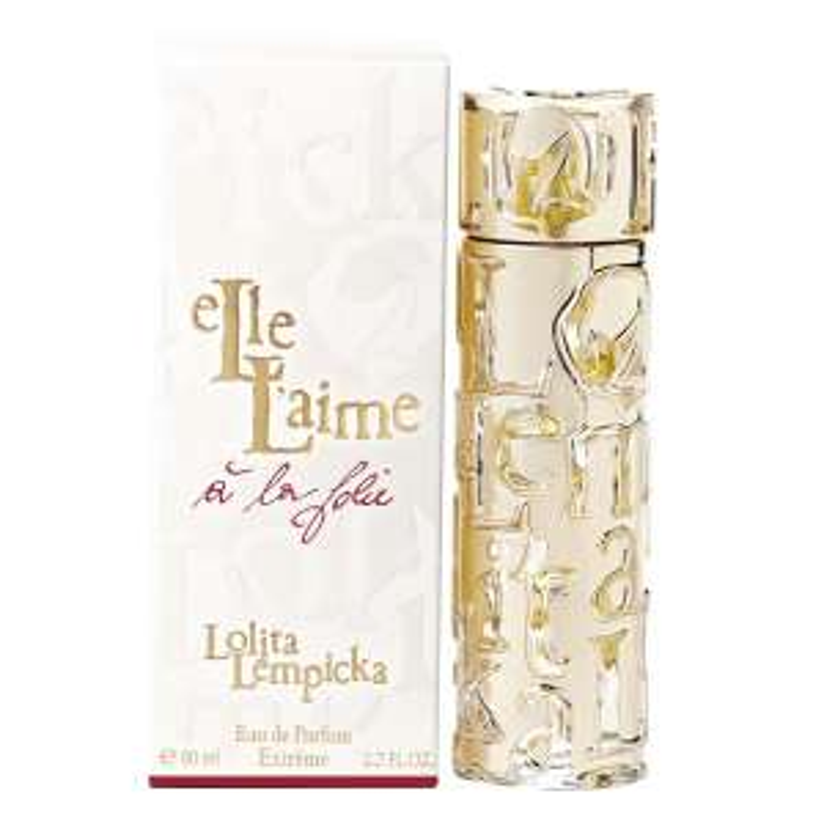 Eau de parfum Lolita Lempicka Elle L'aime à la folie - 80ml