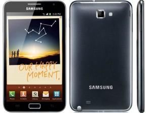 Samsung Galaxy Note Dark Blue + Carte Micro SDHC 16 Go offerte avec ORD (50€)