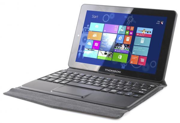 "PC portable 8.9"" Thomson Hero 9-2BK32 - Z3735F, 2 Go de RAM, 32 Go eMMC"
