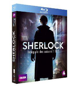 Coffret Blu-Ray Sherlock - Saisons 1 et 2