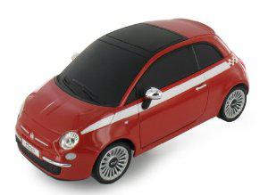 Voiture bluetooth Beewi FIAT 500 Rouge contrôlée par smartphone / tablette