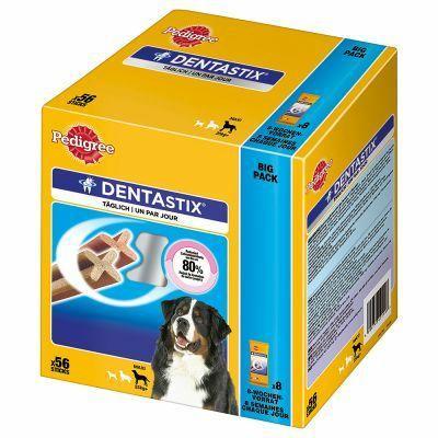 Lot de 112 batônnets de friandises pour chien Pedigree Dentastix - chiens de plus de 25 kg