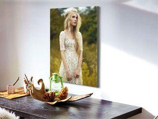 Sélection de cadres photo sur toile en promotion - Ex : Photo sur toile - 20x20cm
