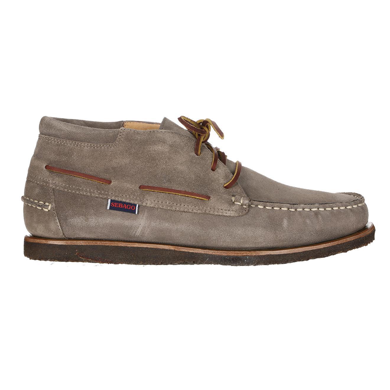 Chaussures Sebago modèle  Bateau en Velours de Cuir (taille 40 à 46)