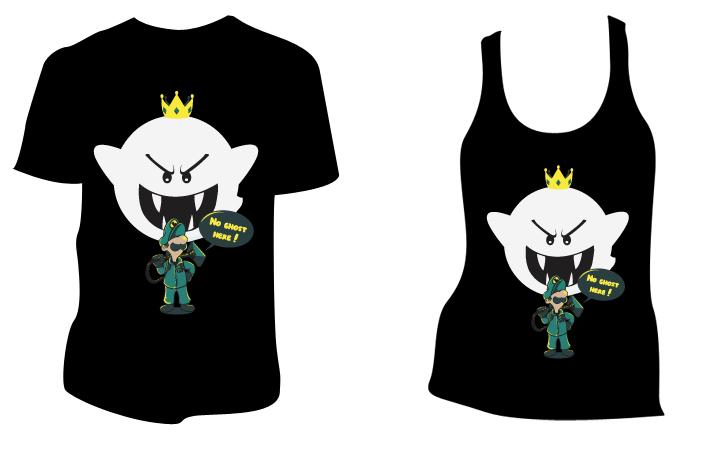 2  t-shirts jeu vidéo (édition limité) en promotion, l'unité