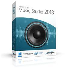 Logiciel Ashampoo Music Studio 2018 gratuit sur PC (Dématérialisé)