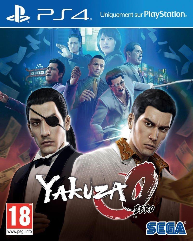 Yakuza 0 sur PS4