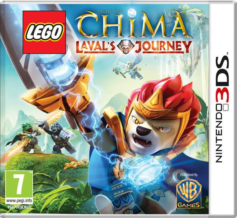 Lego Legends of Chima : Le Voyage de Laval sur Nintendo 3DS