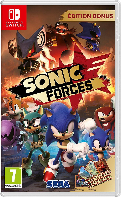 [Précommande]  Sonic Force - Edition Bonus sur Nintendo Switch