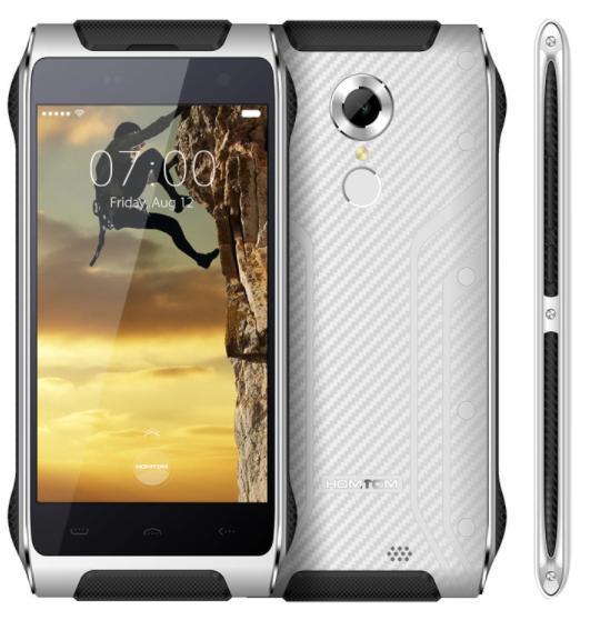 """Smartphone 4,7"""" Homtom HT20 - Etanche, 2 Go RAM, 16 Go ROM, 3500 mAh, 4G (B20) - reconditionné"""