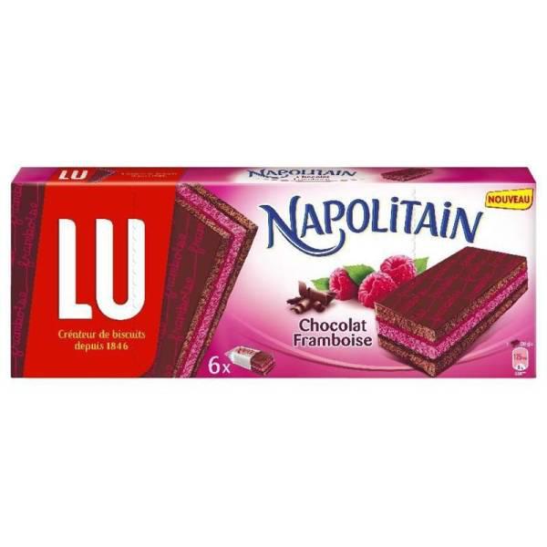 Lu Napolitain chocolat framboise ou praliné gratuit (au lieu de 2.55€)