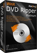WinX DVD Ripper Platinum 8.5.1 (dématérialisé / licence à vie) gratuit sur PC (au lieu de 59,95 $)