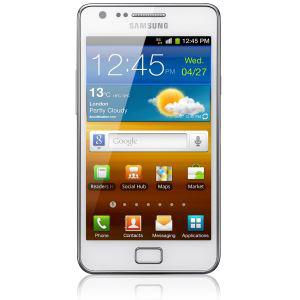 Smartphone Samsung Galaxy S2 Plus (avec ODR 30€) Noir ou blanc