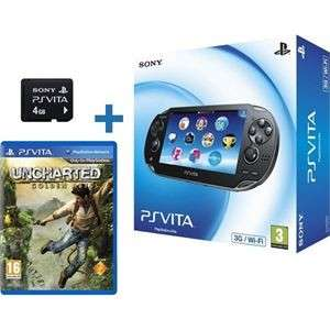 PS Vita + carte 4go + Uncharted : Golden Abyss