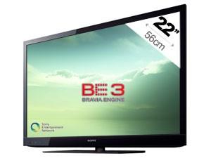 "TV LED Sony KDL22EX310BAEP 22"""